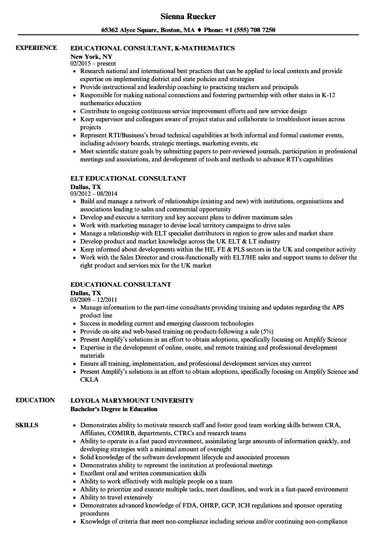 k 12 resume samples