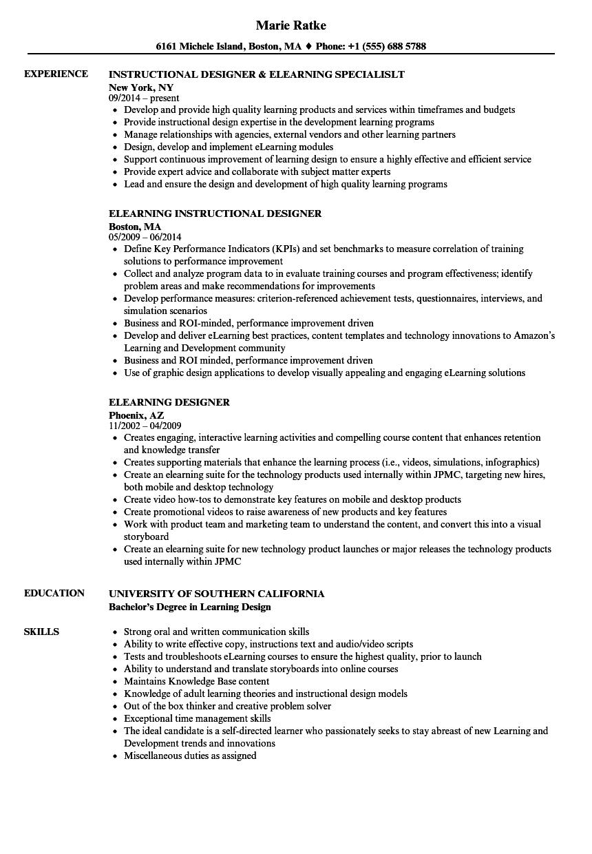 training specialist resume
