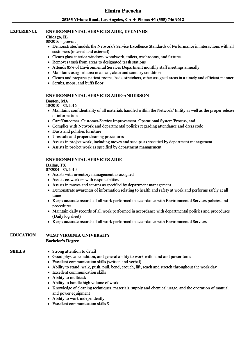 resume examples for transportation