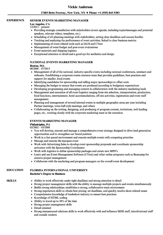 resume examples marketing resume examples marketing resume