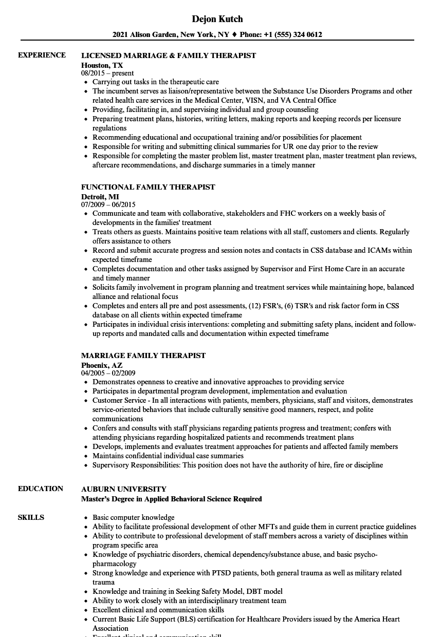 making resume for marriage