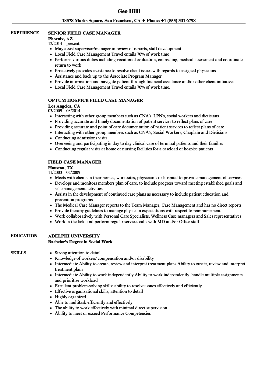 track and field resume sample