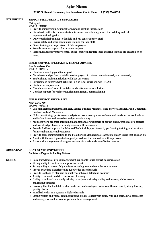 responsibilities resume