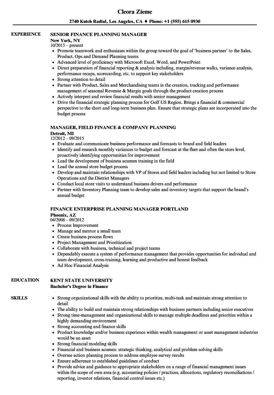 sample marketing resume for a job