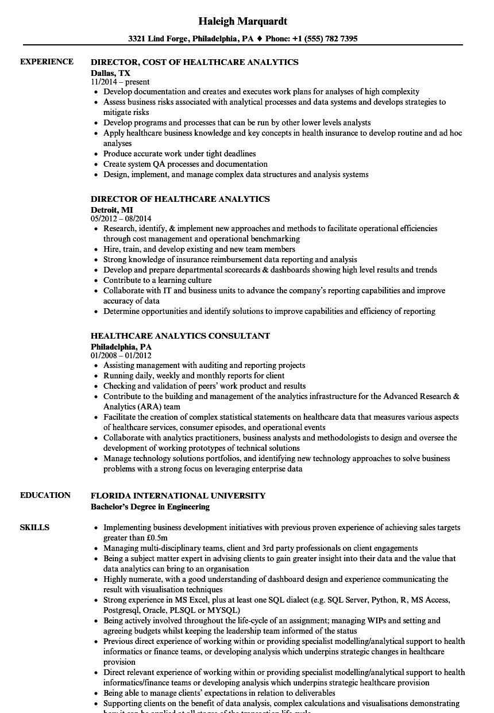 director level resume