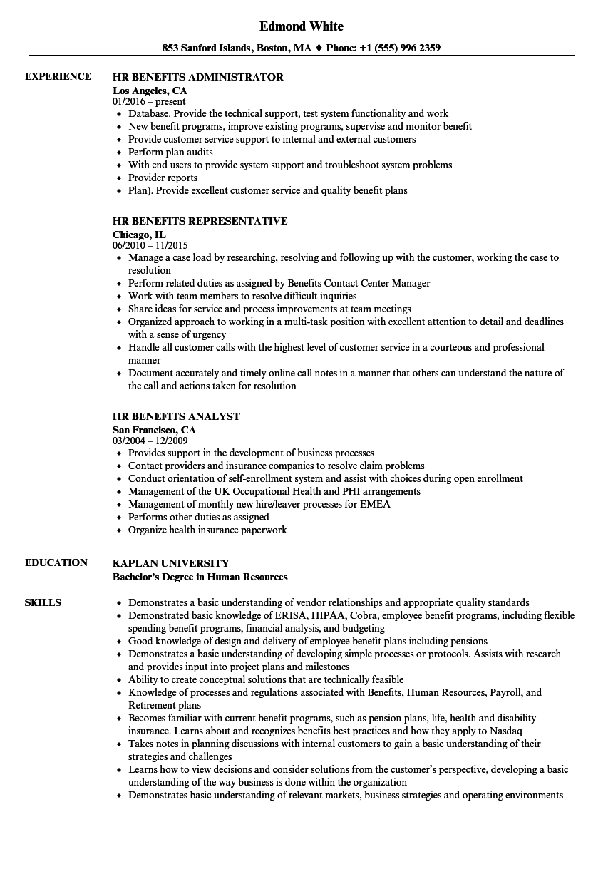 resume with little experience