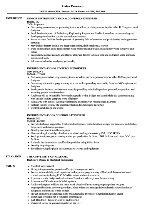 small resolution of download instrumentation controls engineer resume sample as image file