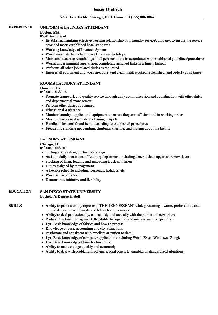 Flight Attendant Resume Template …