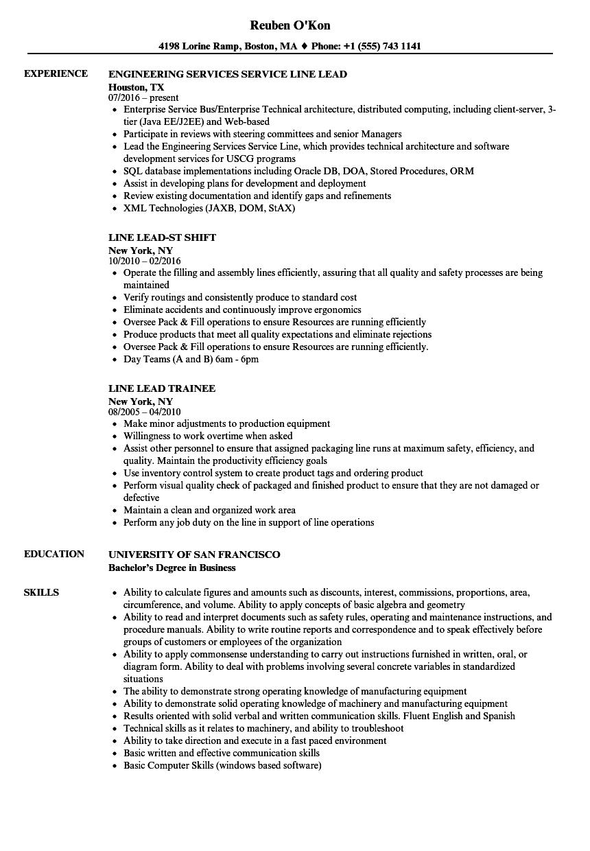 packaging line worker resume sample