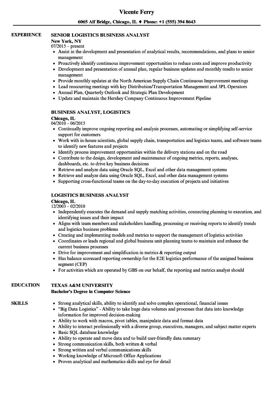 erp business analyst resume sample