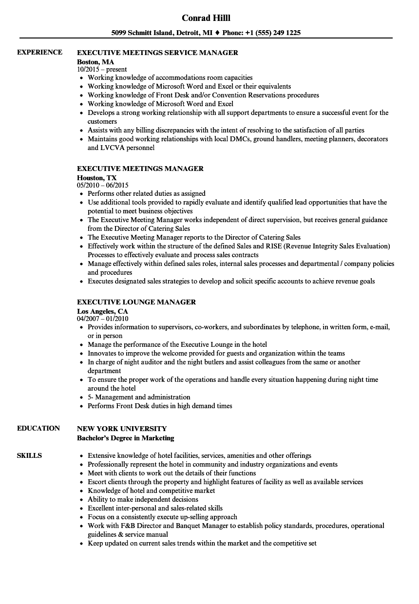 sample resume for franchise manager