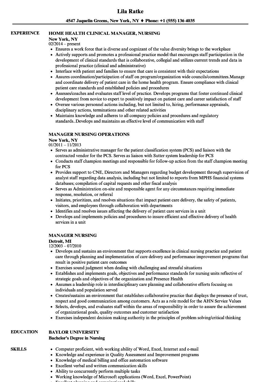Novice Nurse Resume Entry Level Software Engineer Resume