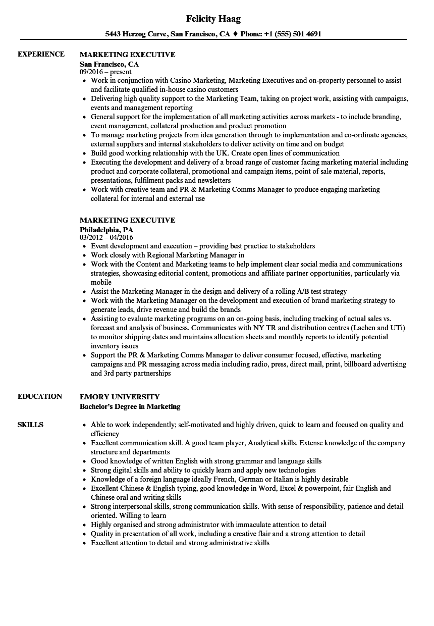 sample resume for sales and distribution