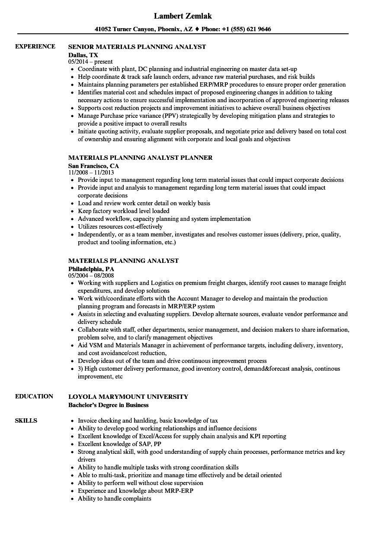 resume work experience order