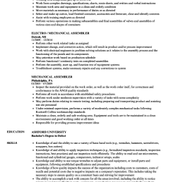 cable wire harness resume [ 860 x 1240 Pixel ]