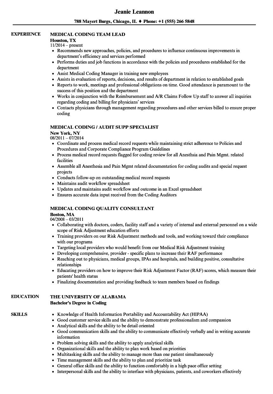 sample cpc resumes