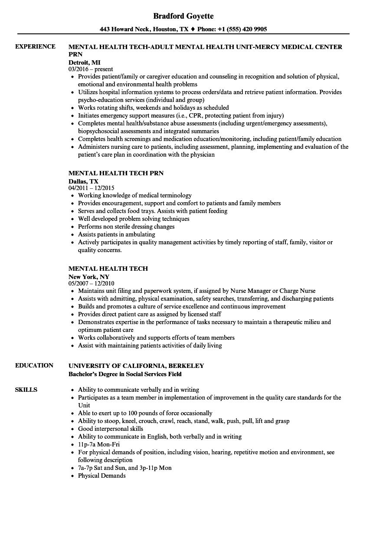 Patient Care Technician Resume Example ] | Patient Care Technician ...
