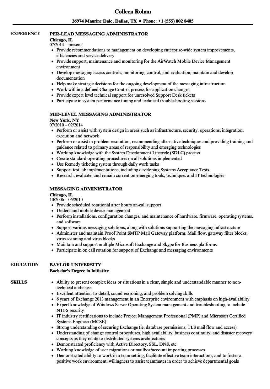 o365 resume sample