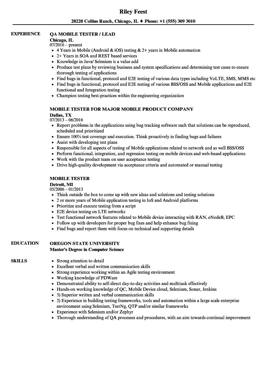ip networks sample resume
