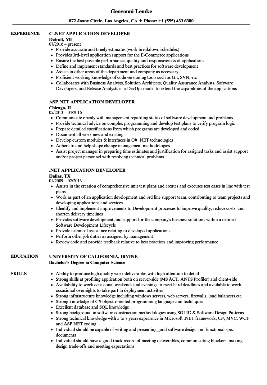 kendo ui sample resume