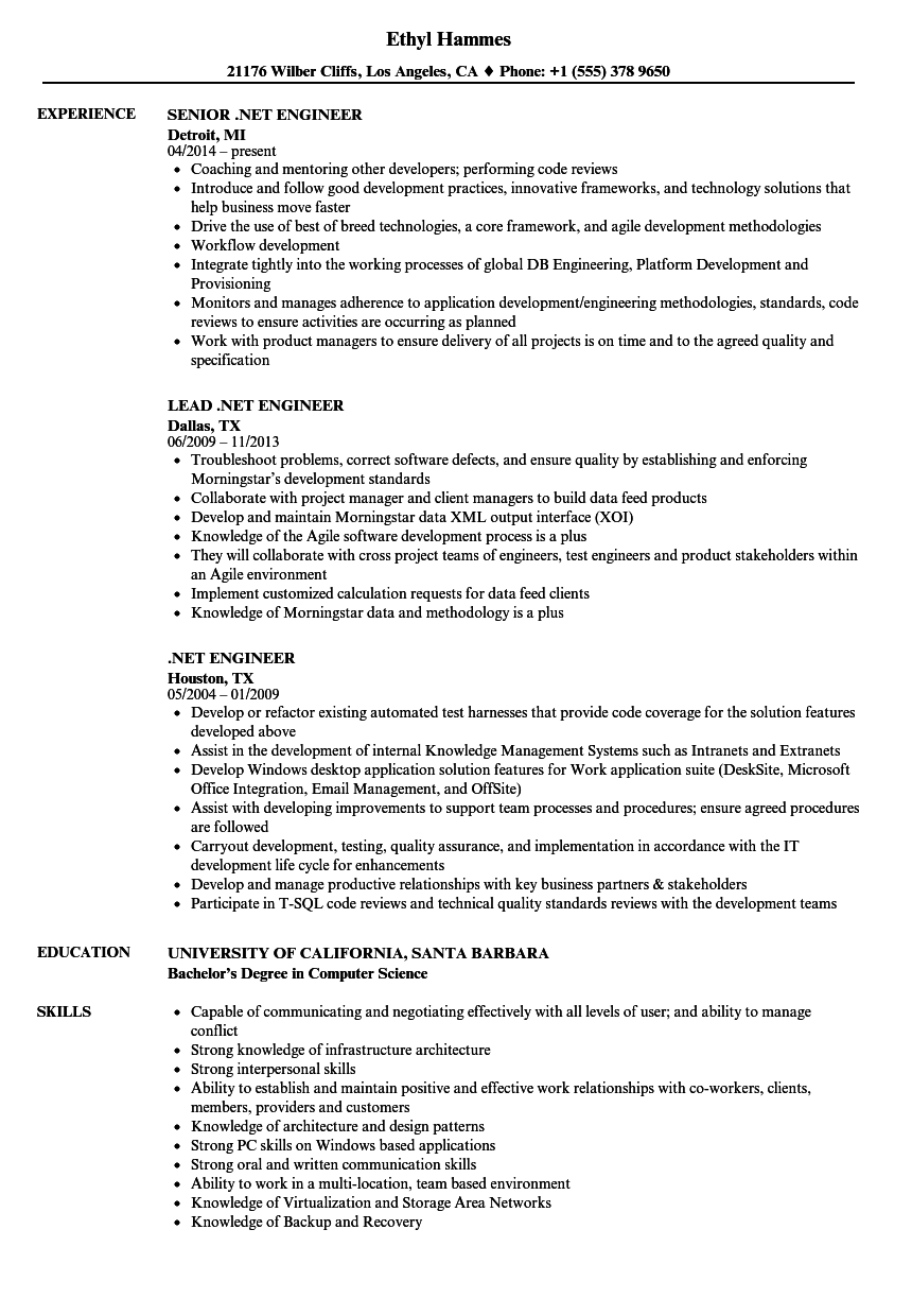 Cute Santa Barbara Engineering Resume Gallery - Resume Ideas ...