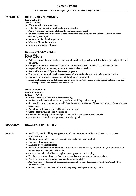 process worker resume samples