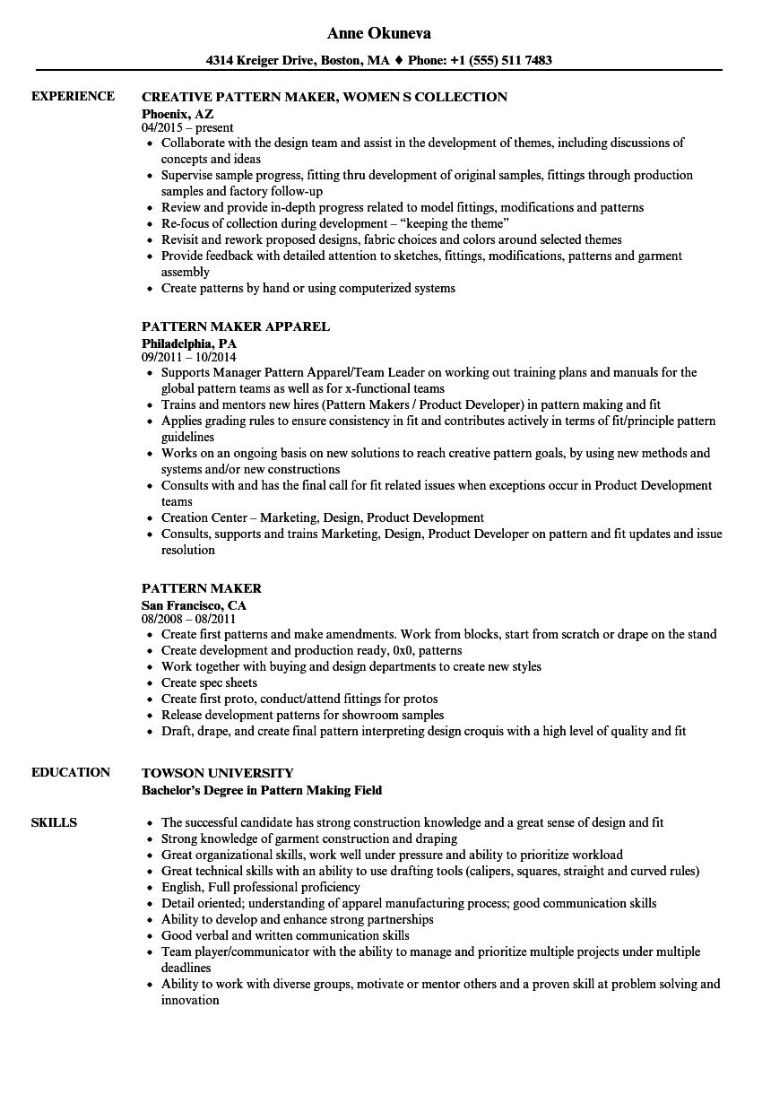 resume maker program
