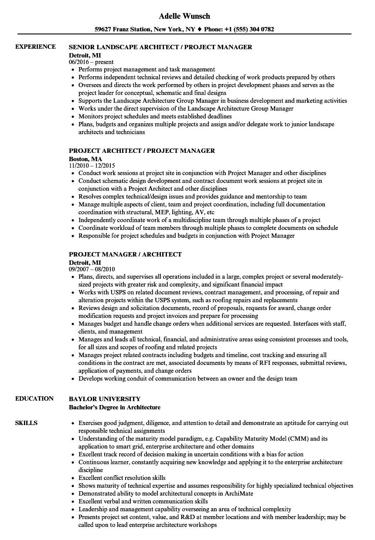 data architect resume sample