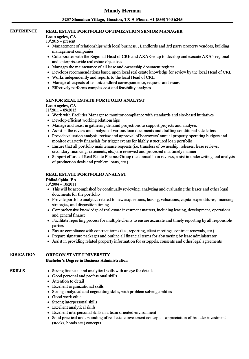 sample resume business director