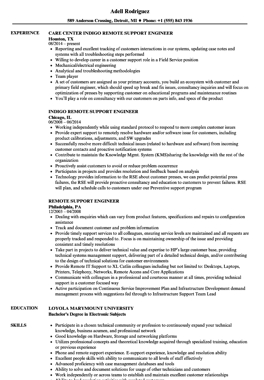 industrial automation experience resume sample