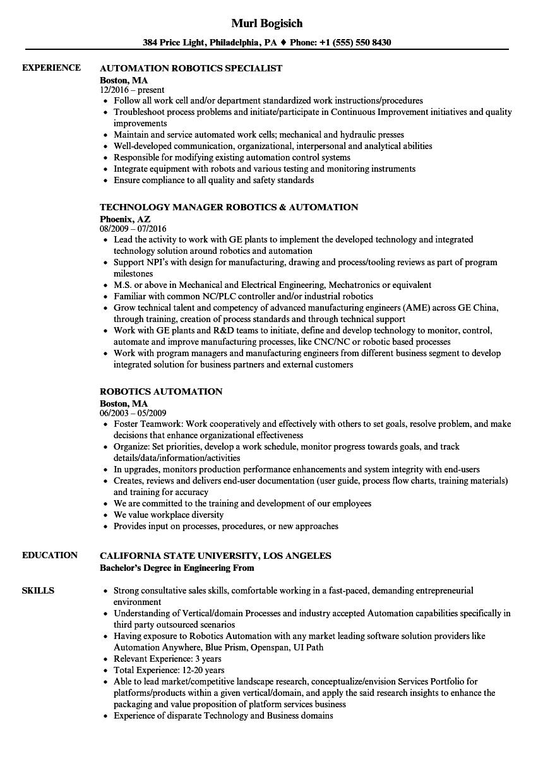 detail oriented resume sample