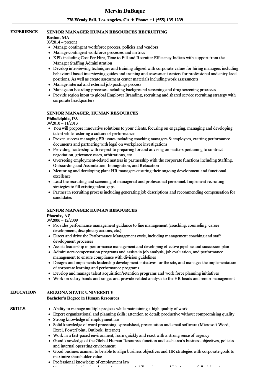 human services resume sample