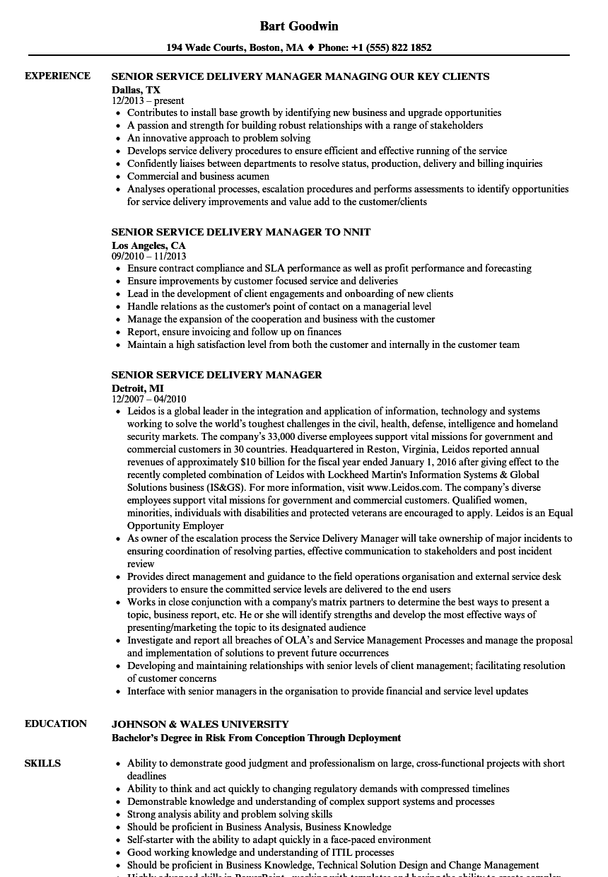 It Manager Resume Examples It Manager Resume Examples It