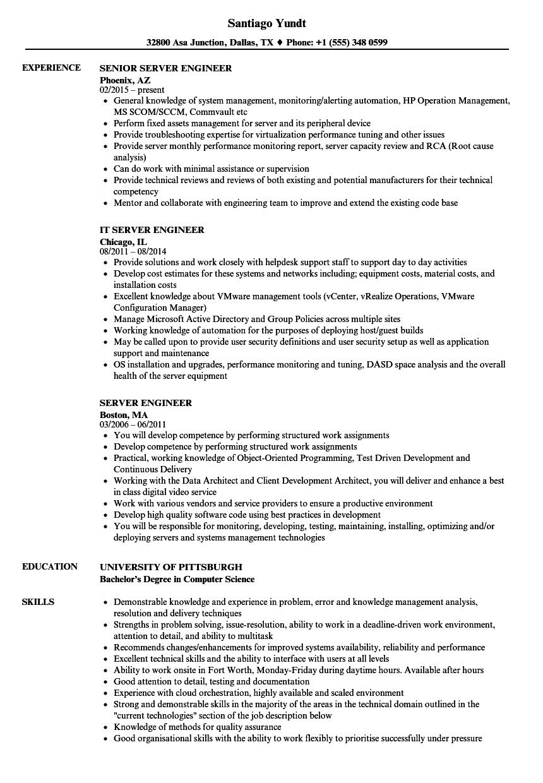 windows active directory resume sample