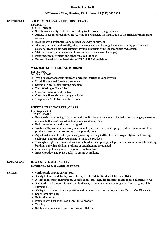 landscape worker resume sample