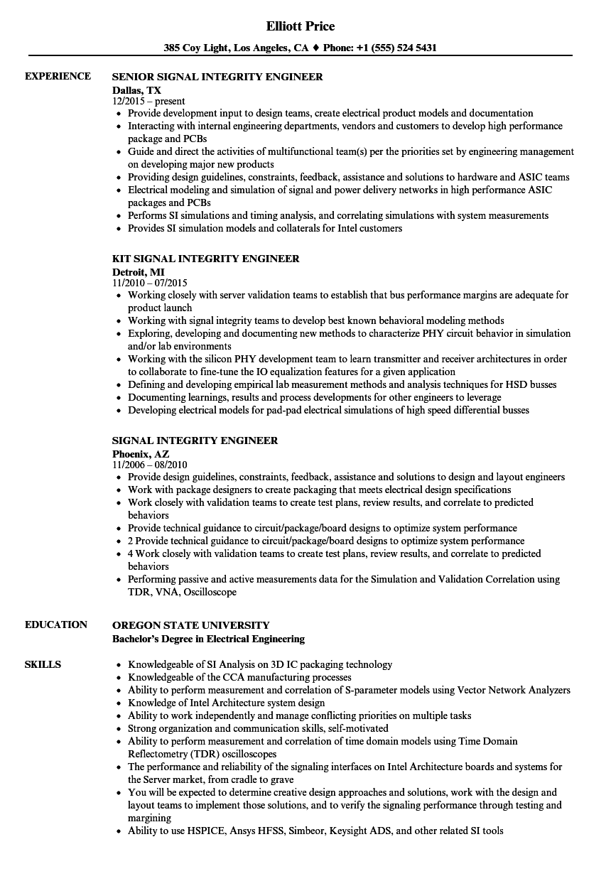 skill and knowledge in resume