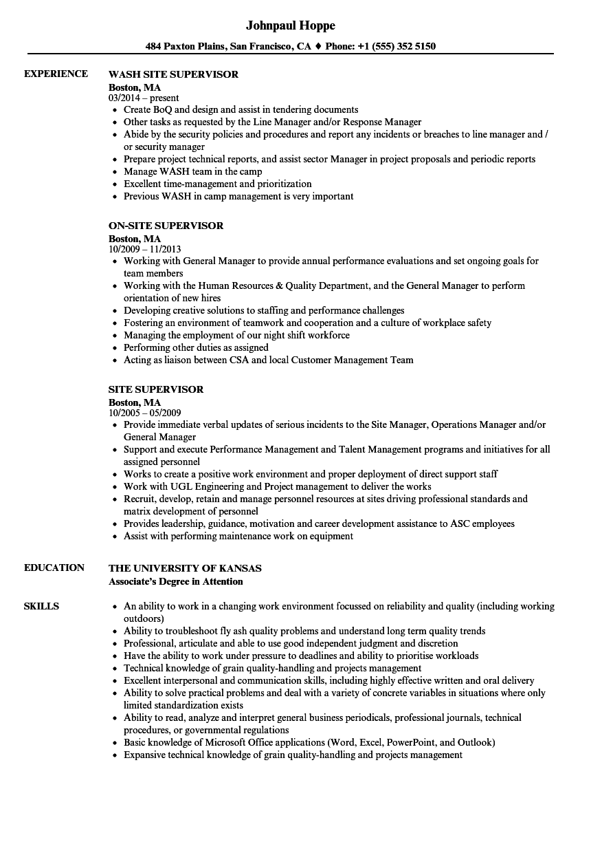 Medical Billing Supervisor Resume Sample Medical Billing