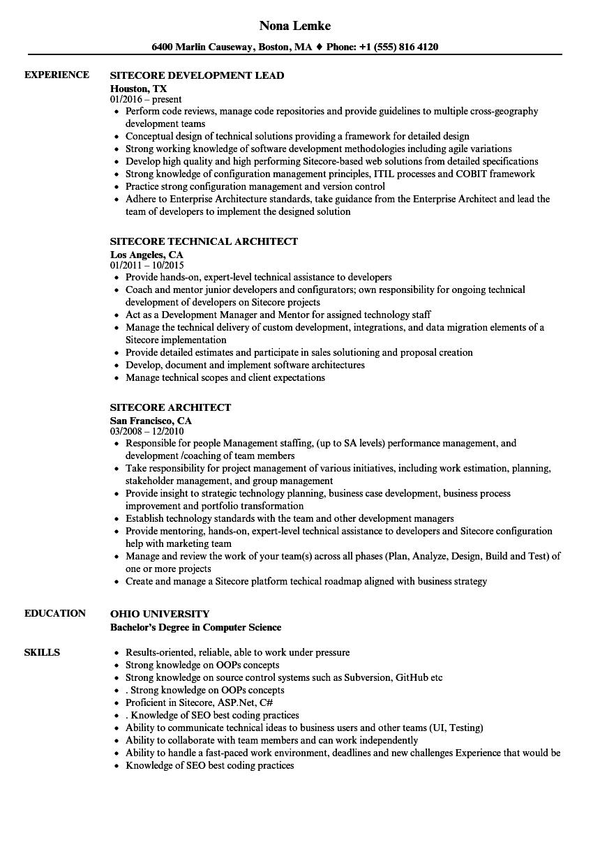 sample azure resume