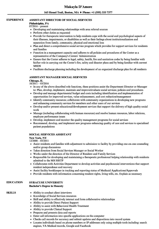 documentation resume examples