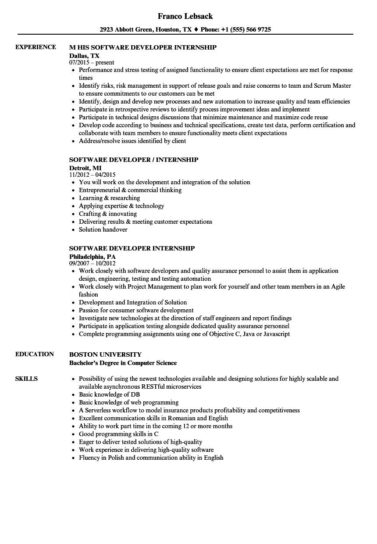 design internship resume sample