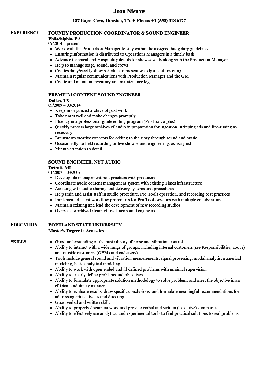 a quick resume