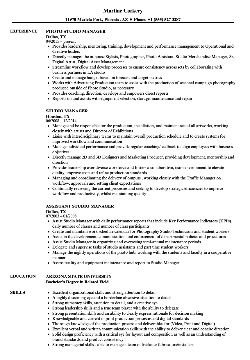 what is resume title sample