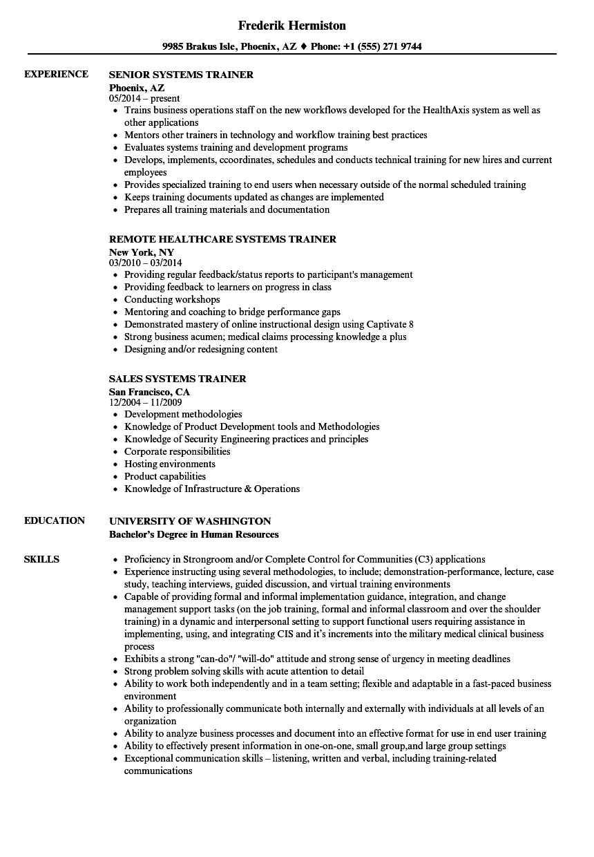 Athletic Trainer Resume Examples ] | Athletic Trainer Resume Examples