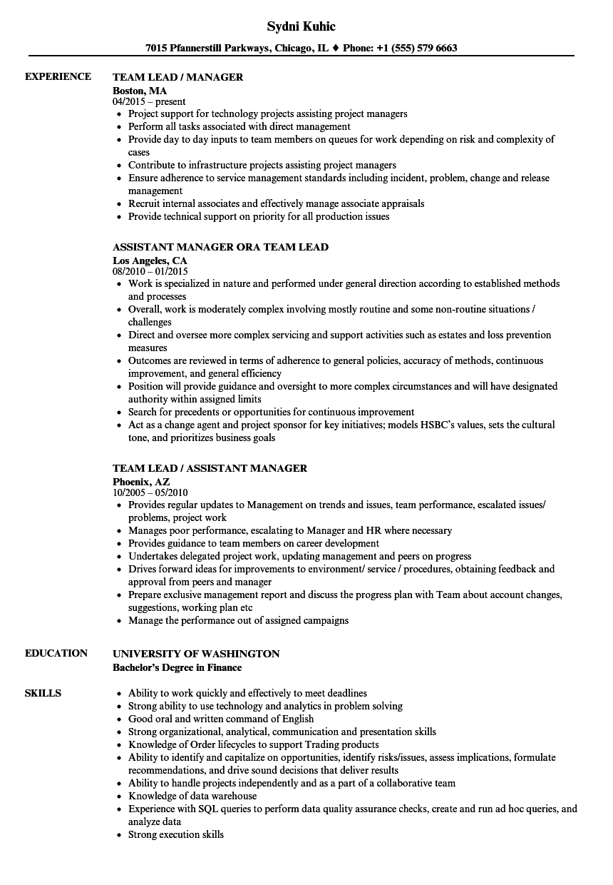 requirements manager resume