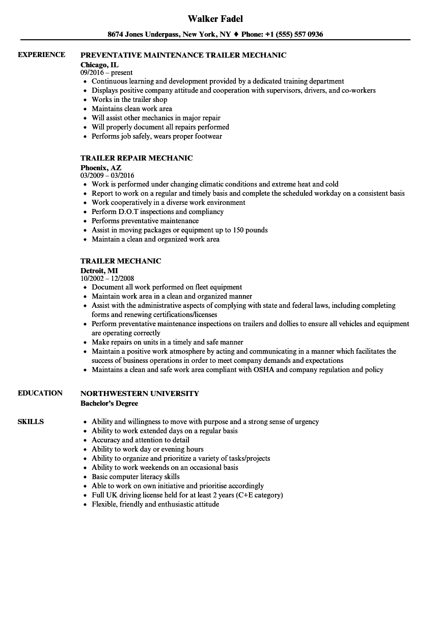Industrial Maintenance Worker Resume Sample ] | Notice Writing ...