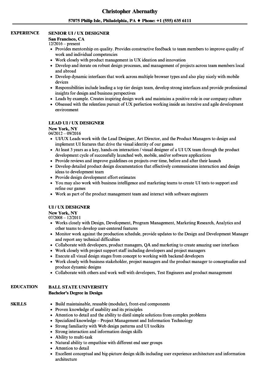 it team lead resume sample