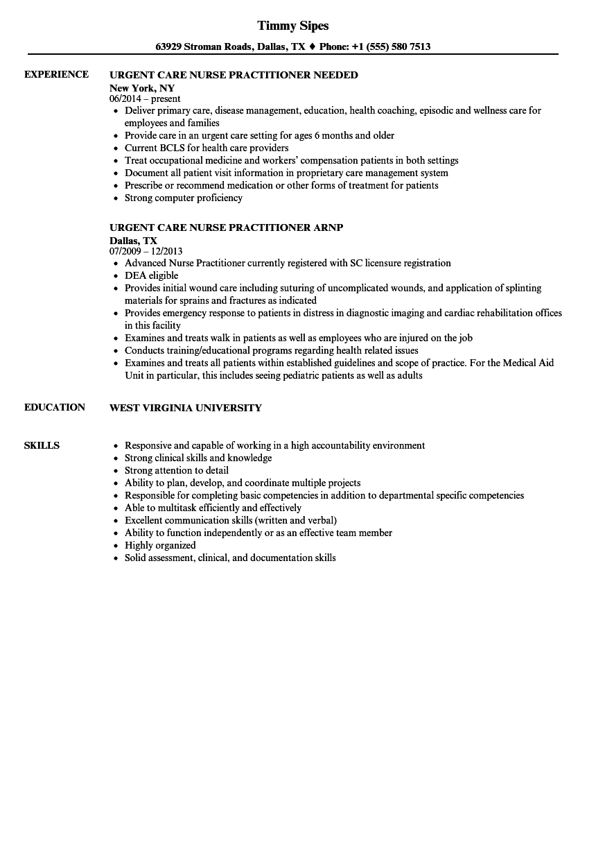 sample resume for wound care nurse