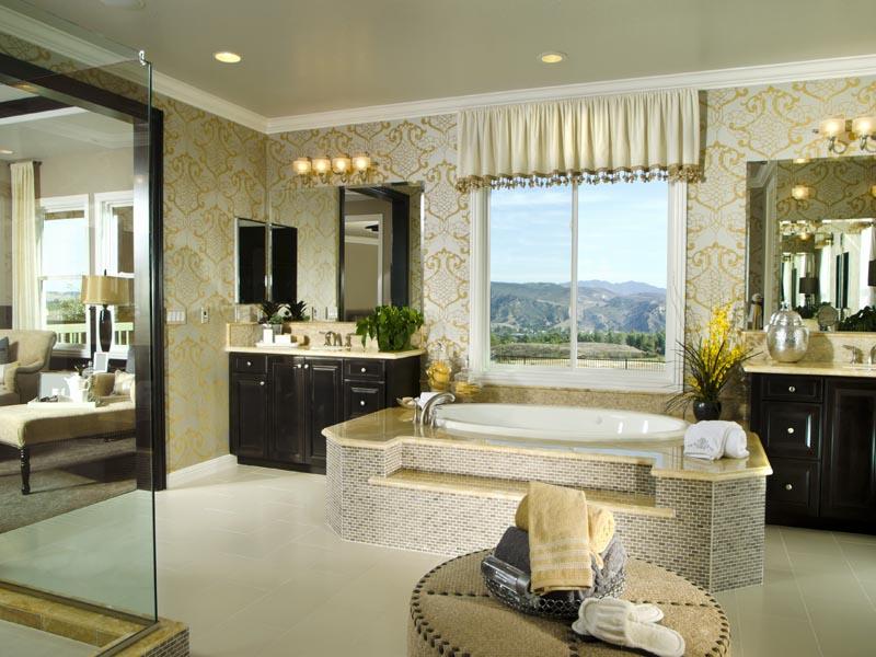 Ivory white tile for bathroom floor
