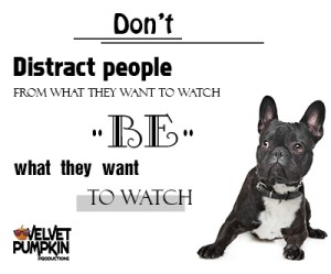 Be what they want to watch - pin it