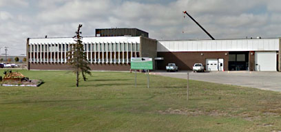 Image of Beausejour VEMA heavy duty equipment location